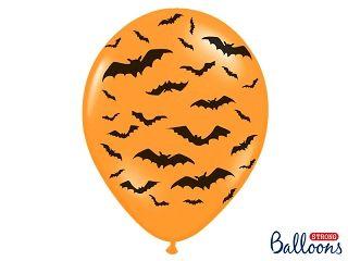 Ballons Bats Pastel Mandarin Orange