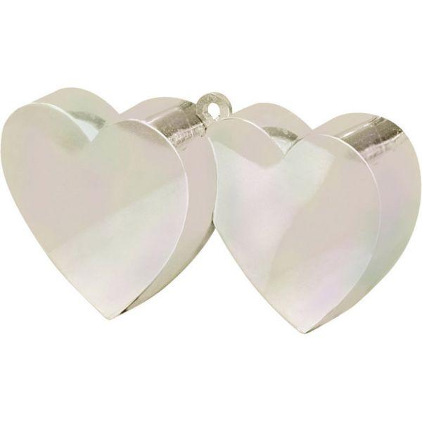 Ballongewicht Doppelherz Iridescent 170 G