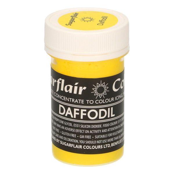 Sugarflair Pastenfarbe Pastel - Daffodil