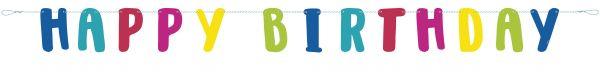 Llama Geburtstag Buchstaben Banner