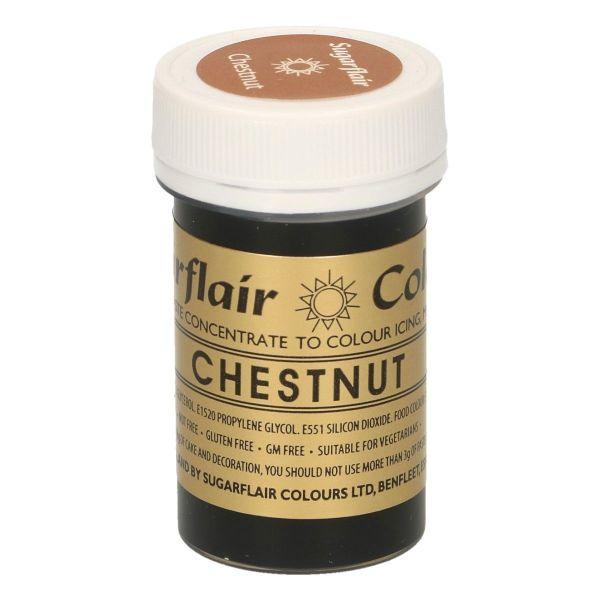 Sugarflair Pastenfarbe - Chestnut