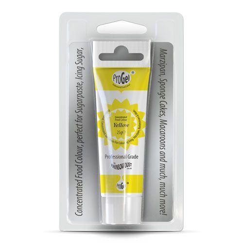 Lebensmittelfarbe - Gel - Yellow