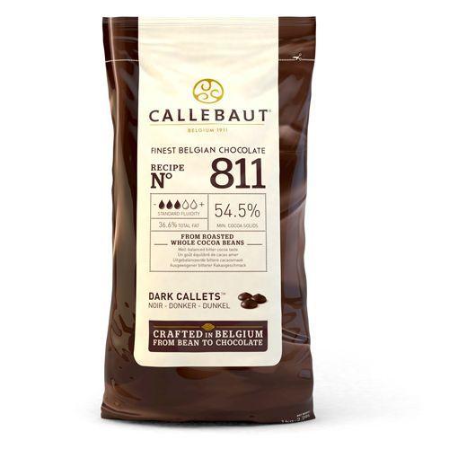 Schokoladen Callets - Callebaut Dark - 1 kg