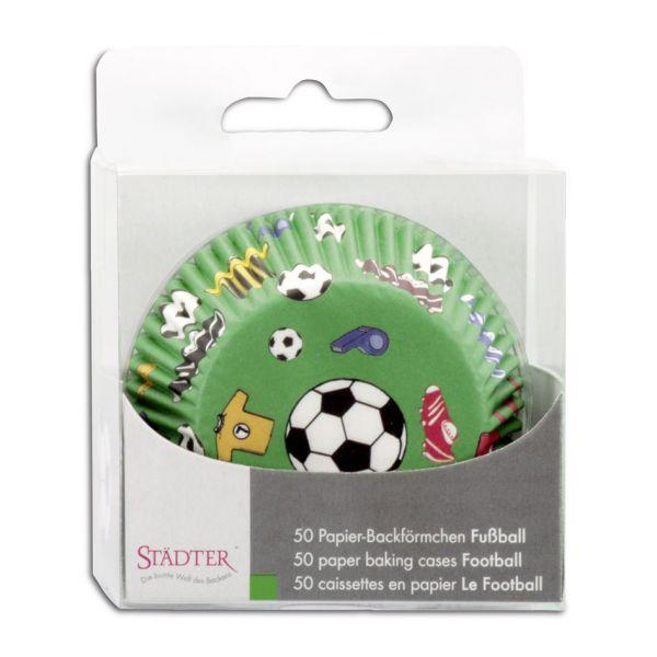 Muffin Förmchen Fußball