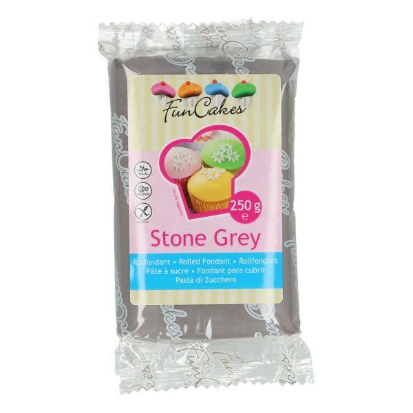 Rollfondant Stone Grey 250 g
