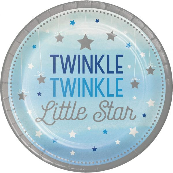 Twinkle - Boy Pappteller 23 Cm/8