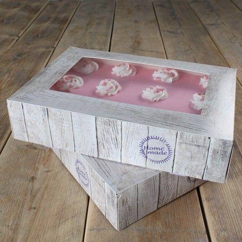 Tortenbox 36 X 25 X 8 cm Holz Design/2