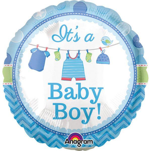 Baby Boy Mini-Folienballon