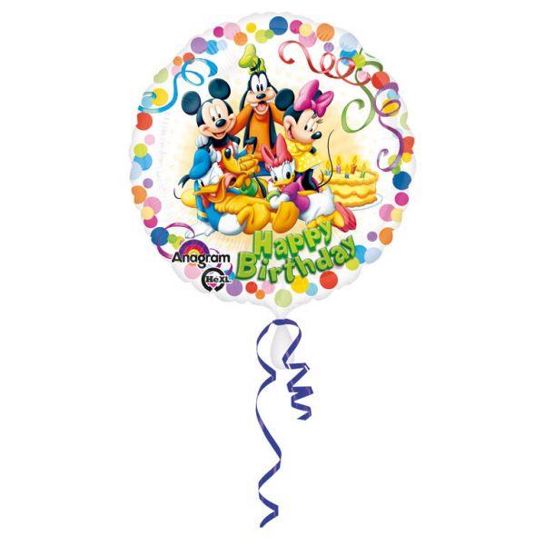 Mickey & Freunde Party Folienballon 43 cm