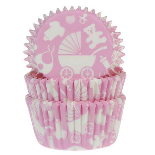 HOM Muffin Förmchen Baby Rosa