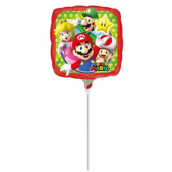 Super Mario Bros Mini-Folienballon