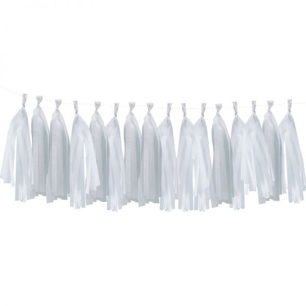 White Tassel Garland Pick And Mix