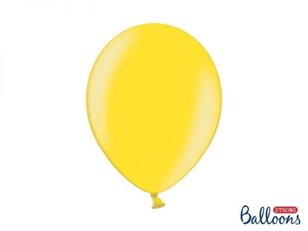 Ballon Metallic Lemon