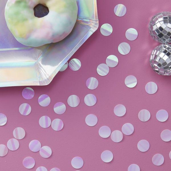 Iridescent Table Confetti