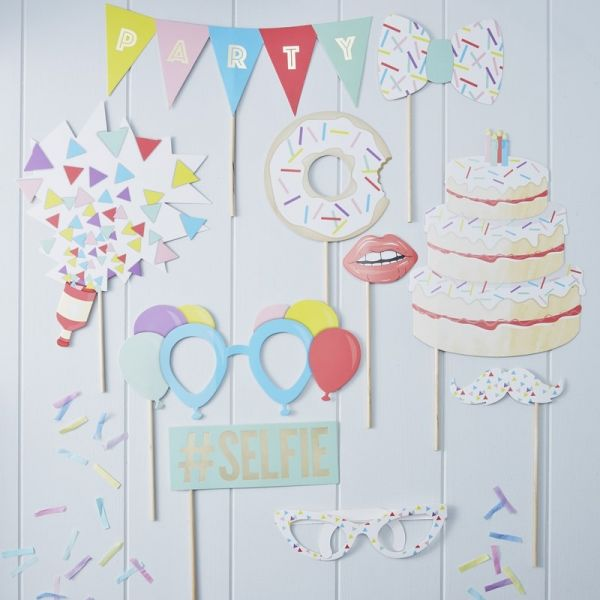 Photo Booth Party Props Pick And Mix