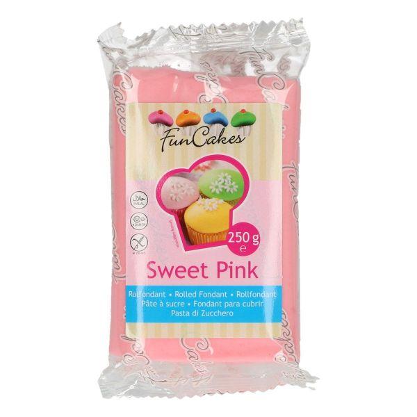 Rollfondant Sweet Pink 250 g