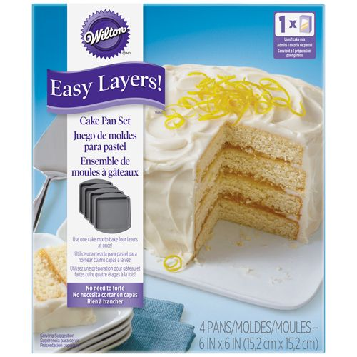 Wilton Easy Layers 15Cm Eckig