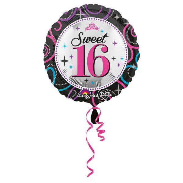 Sweet 16 Folienballon 43 cm